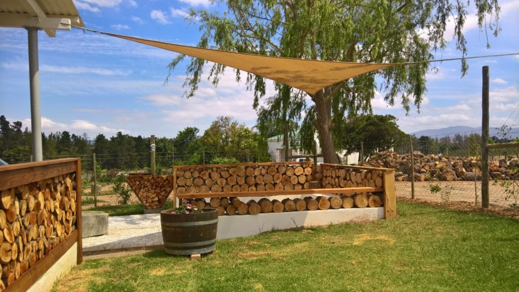 Farm Stay Patio Braai Area